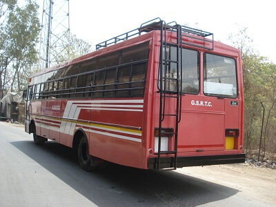 gsrtc bus