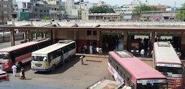 jamkandorna bus stand