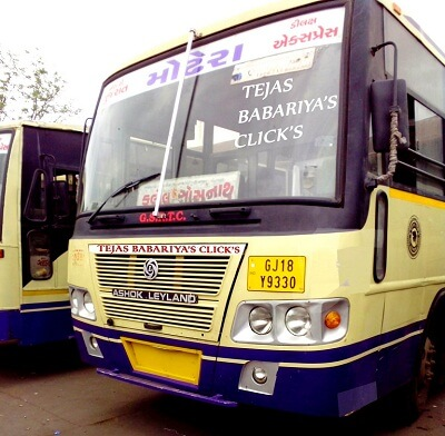 Kalol ST Bus