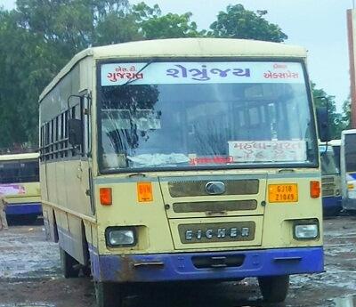 Mahuva Bus