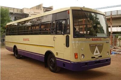 Nehrunagar Ahmedabad ST Bus